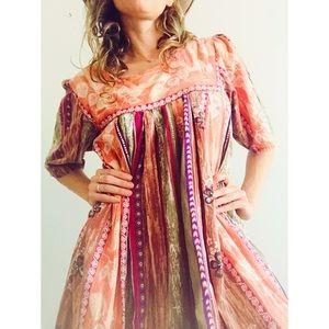 Vintage dress Size L.